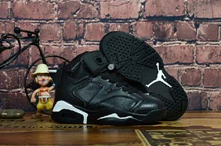 Air Jordan 6 Retro Kid shoes-4