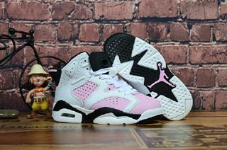 Air Jordan 6 Retro Kid shoes-5